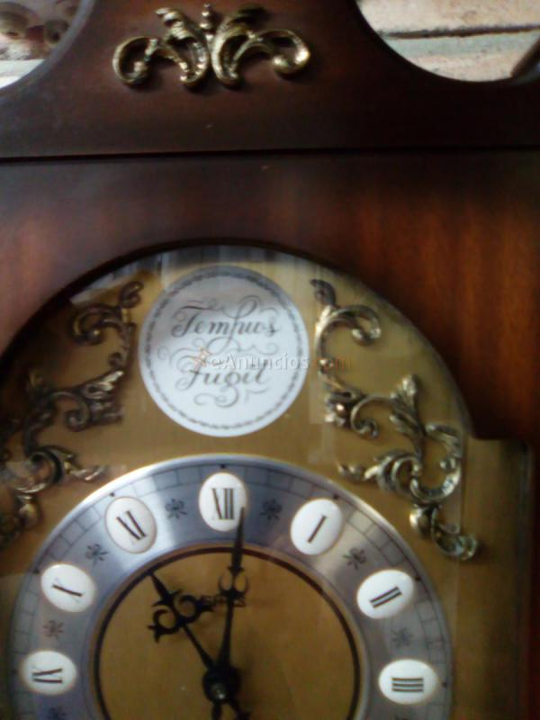 Reloj de pared tempus fugit con p ndulo 737940 for Reloj de pared con pendulo
