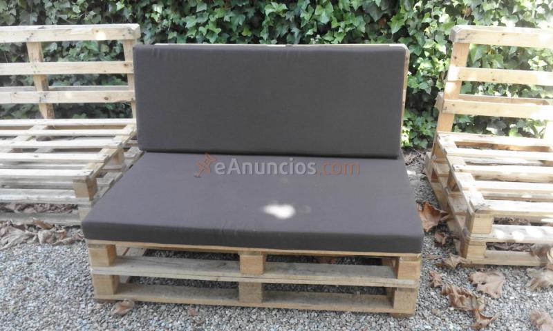 asientos y respaldos para sofa de palets - Asientos Con Palets