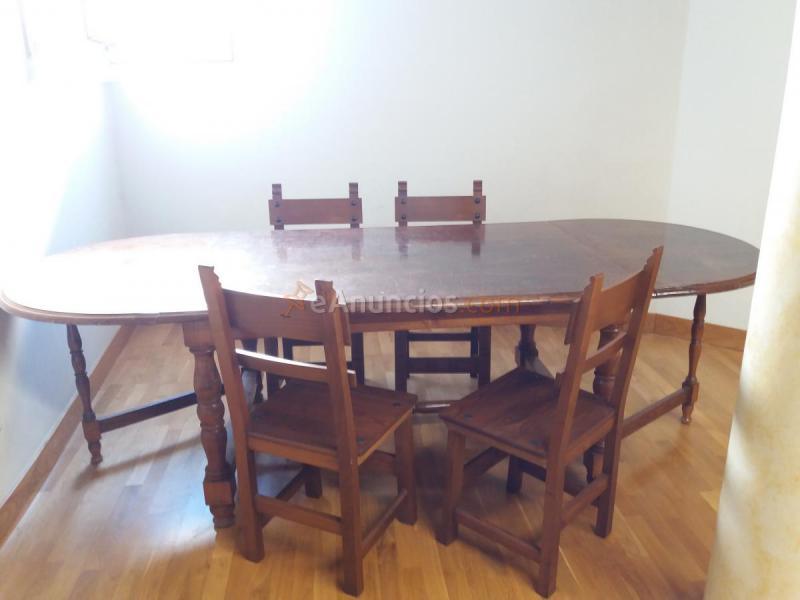 Mesa de madera maciza 1496807 for Mesa madera maciza exterior